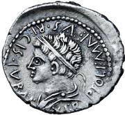 Denarius - Juba II and Ptolemy (Caesarea) – reverse