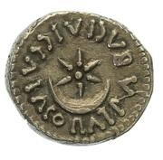 Denarius - Juba II and Cleopatra Selene – reverse