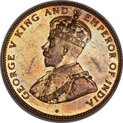 2 Cents - George V – obverse