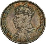 ½ Rupee - George V – obverse