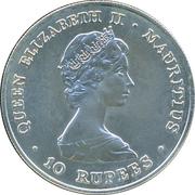 10 Rupees - Elizabeth II (FAO - World Food Day) – obverse