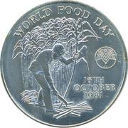 10 Rupees - Elizabeth II (FAO - World Food Day) – reverse