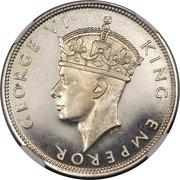 1 Rupee - George VI – obverse