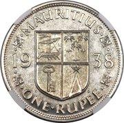1 Rupee - George VI -  reverse
