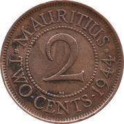 2 Cents - George VI – reverse