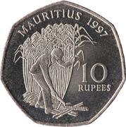 10 Rupees -  reverse