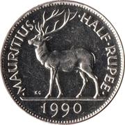 ½ Rupee -  reverse