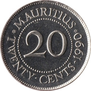 20 Cents -  reverse