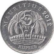 5 Rupees – reverse