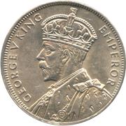 1 Rupee - George V – obverse