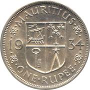 1 Rupee - George V – reverse
