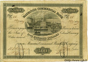 500 Dollars (Mauritius Commercial Bank)