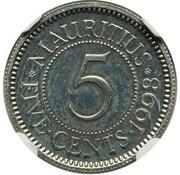 5 Cents (Pattern) – reverse