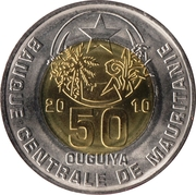 50 Ouguiya – obverse
