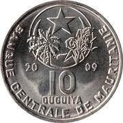 10 Ouguiya – obverse