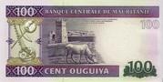 100 Ouguiya – reverse