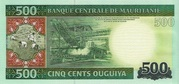 500 Ouguiya – reverse