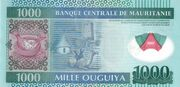 1,000 Ouguiya -  reverse
