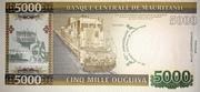 5 000 Ouguiya (Central Bank of Mauritania) ) – reverse