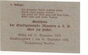 20 Heller (Mautern) – reverse