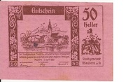 50 Heller (Mautern) – obverse