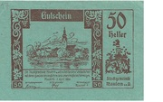 50 Heller (Mautern) -  obverse