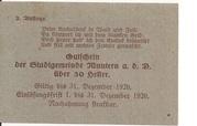 50 Heller (Mautern) – reverse