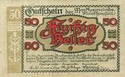 50 Heller (Mauthausen) -  obverse