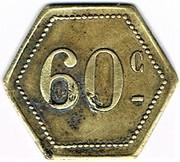 60 Centimes - Maxeville – reverse