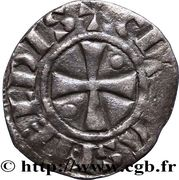 Denier - Bouchard (1120-1134) – reverse