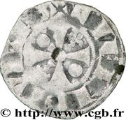 Denier - Pierre Ier (1172-1174) – reverse