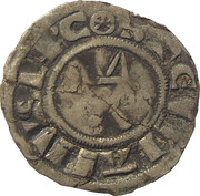 Denier - Étienne (1161-1171) - ÉVÊCHÉ DE MEAUX – obverse