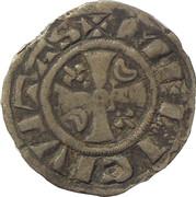 Denier - Étienne (1161-1171) - ÉVÊCHÉ DE MEAUX – reverse