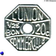 20 Centimes (Meaux) – reverse