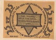 25 Pfennig (Rehna) – reverse
