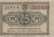 25 Pfennig (state issue) – obverse