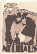 25 Pfennig (Neuhaus in Mecklenburg) – obverse
