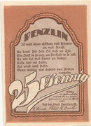 25 Pfennig (Penzlin) – reverse