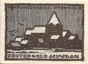 25 Pfennig (Schwaan) – obverse