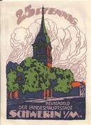 25 Pfennig (Schwerin) – obverse