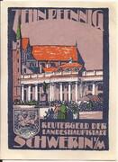 10 Pfennig (Schwerin) – obverse