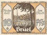 10 Pfennig (Brüel) – obverse