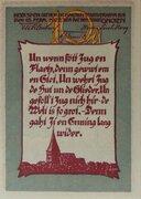 10 Pfennig (Gnoien) – reverse
