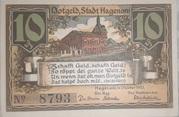 10 Pfennig (Hagenow) – obverse