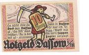 10 Pfennig (Dassow) – reverse