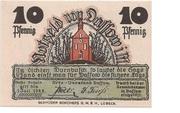 10 Pfennig (Dassow) – obverse