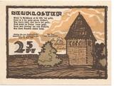 25 Pfennig (Neukloster) – obverse