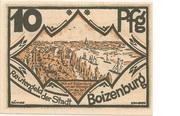 10 Pfennig (Boizenburg) – obverse
