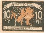10 Pfennig (Boizenburg) – reverse