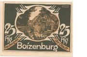25 Pfennig (Boizenburg) – obverse